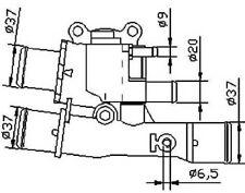VALVOLA TERMOSTATICA FIAT DOBLO Cargo(223)1.6 16V 2001