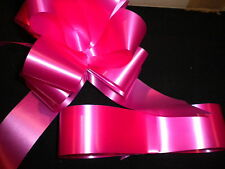 PULLBOWS AND/OR RIBBON WEDDING CAR PEW END CHRISTMAS WRAPPING CHOICE OF COLOURS
