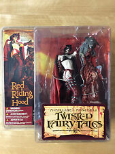 McFarlane Monsters Twisted Fairy Tales: Red Riding Hood-NUOVO & OVP