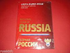 2016 UEFA EURO RUSSIA TOURNAMENT MEDIA GUIDE MAGAZINE IN BAG