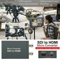 2-way Micro SDI to HDMI Converter Adapter Mini 3G HD SD-SDI Video Converter OZ