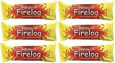 6 x Gardeco Smokeless Fire Log Firelog Burners Fireplace Fuel Wood Stove 1.1kg
