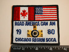 1980 Road America Can Am Racing Patch Chicago Region