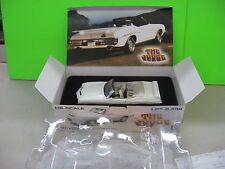 GMP GM White 1971 Pontiac GTO JUDGE  Convertible #1436 of 2496 1:18 Part 8042