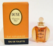 DUNE CHRISTIAN DIOR - 5ml EAU DE TOILETTE MINI DAB ON PERFUME - BOXED VERY RARE