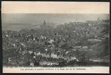 Postcard Boulogne sur Mer France vue generale St-Pierre/vue de la Cathedrale