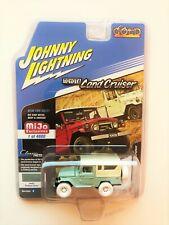 CHASE JOHNNY LIGHTINIG 1980 TOYOTA LAND CRUISER GREEN 1/64 DIECAST CAR JLCP7031