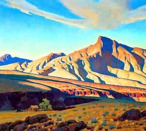 Home of the Desert Rat by Maynard Dixon