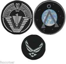 Stargate sg1 lot 3 ecussons 2nd version SG1 last version stargate team patches