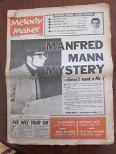 Melody Maker Aug 1 1964 Manfred Mann King Size Taylor Fourmost Stones
