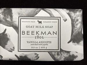 Beekman 1802 Pure Goat Milk Soap, Vanilla Absolute, 9 oz