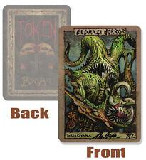 MTG Eldrazi Horror TOKEN card, hand Painted by Magic the Gathering artist BAXA