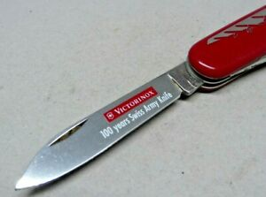 Limited Edition 100 Years Victorinox 91mm Officer / Spartan Swiss Army Knife