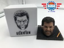 AUTHENTIC ELEVEN 1/6 Angry Logan Wolverine Head Sculpt w/ PENCIL for 12""