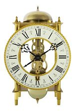 acctim houbrook 36818 clock mechanical 8 day key wind bell strike on the houre