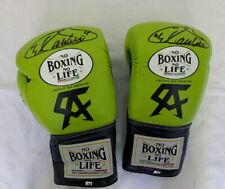 Saul Canelo Alverez signed replica fight night boxing glove **RARE**