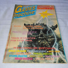 THE GAMES MACHINE N° 41 APRILE 1992 ANNO 5 16 BIT CONSOLE TGM RIVISTA PC AMIGA