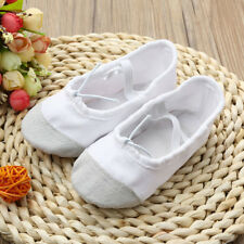 Child Kids Boy Girl Soft Anti-slip Ballet Dance Shoes Canvas Gymnastics Shoes
