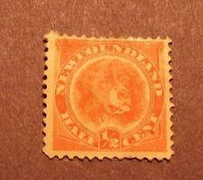 Canada Newfoundland Stamp Scott# 57 Newfoundland Dog 1896 MH  L18