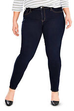 Levi's Women's 311 Shaping SKINNY Jeans Plus Color Darkest Sky 196430001 22w/m