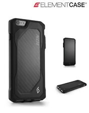 New Element Case ION 6 Protective iPhone 6 Plus Carbon Fibre Hard Case - Black