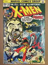 UNCANNY X-MEN #94 FIRST NEW X-MEN TEAM F+