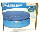 Intex 8 FT Easy Set Swimming Pool Debris COVER Round Tarp Open Box