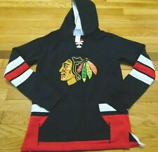 CCM NHL CHICAGO BLACKHAWKS JERSEY SWEATSHIRT SIZE L (14-16)