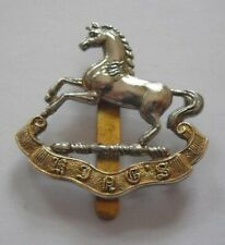 BRITISH ARMY CAP BADGE. THE KING'S REGIMENT ( LIVERPOOL ).