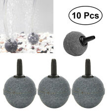 10X Air Stone Mineral Bubble Diffuser Airstone Diffuser Aquarium Fish Tank Pump