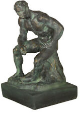 Athlete by Rodin French Museum Sculpture Replica Reproduction 12.5""
