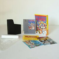 Nintendo NES Video Game - Dr. Mario - COMPLETE with box, game and manual - CIB