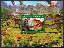 More details for mali 2018 mnh dinosaurs t-rex 1v impf m/s i prehistoric animals stamps