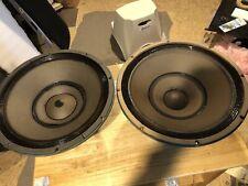 New ListingAltec lansing Speaker Model 415 C Full Range Biflex Pair