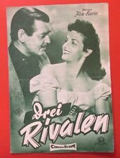 Drei Rivalen 1956 Film Kurier IFB Nr.2523 Clark Goble, Jane Russell Cinema Scope
