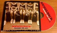 NICKELBACK / FIGURED YOU OUT - CD single (EU 2004 + video track)