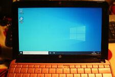 """Pink Swirl Design HP MINI 110 LAPTOP 10.1"""" LCD WIN 10 2GB RAM HDD 160GB WiFi"""