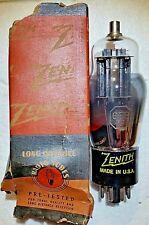 NOS NIB 6F8G Zenith (RCA) Vacuum Tube, TV-7 tested 152/162% - will combine ship