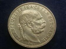 5 Korona ( Kronen ) 1909 Franz Joseph - Ferenc Silber W/21/522