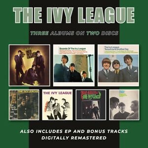 The Ivy League - This Is/Sounds Of/Tomorrow Is Another Day (2021)  2CD  NEW