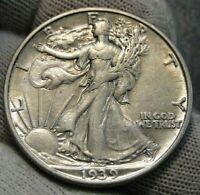 1939s walking liberty half dollar 50 Cents. Nice Coin, Free Shipping (48)