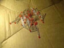 50pcs LED red 1.8mm model making DIY toys