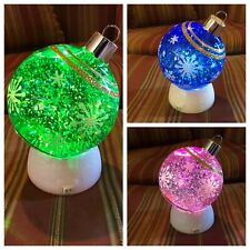 Bath and Body Works Light Up Ornament Water Globes- YOU CHOOSE- Different Colors