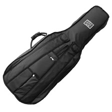 More details for 1/2 size cello padded gig bag with back pack straps by j.thibouville-lamy, black