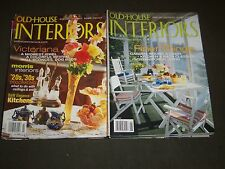 2000'S OLD HOUSE INTERIORS MAGAZINE LOT OF 16 - NICE COVERS & PHOTOS - R 94