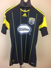 Adidas Climacool MLS Soccer Columbus Crew 2010 Jersey Small Black