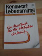 Kennwort Lebensmittel AID 1980 Handbuch für den täglichen Einkauf Seiten 96