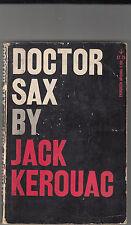 DOCTOR SAX-JACK KEROUAC-GROVE PRESS 1ST ED 1959-SC BEAT CLASSIC VG-