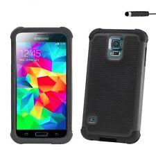 Étuis, housses et coques noirs Samsung Galaxy S en silicone, caoutchouc, gel pour téléphone mobile et assistant personnel (PDA)