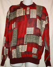 ST. CROIX MADE IN USA COLORFUL COTTON MIX CASUAL TOP. STC7529